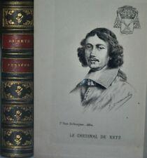 RETZ (Cardinal de) Pensées du Cardinal de Retz. TIRAGE DE TÊTE. 1888