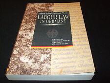 Halbach Paland Schwedes Wlotzke - Labour Law in Germany - englisch