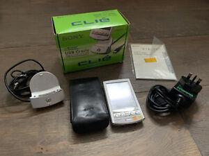 Sony PEG-N770C/U Personal Handheld Computer &  PEGA-UC700 USB Cradle for Clie