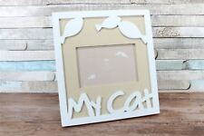 "4X6"" My Cat Cream Photo Picture Frame Wall Decor"
