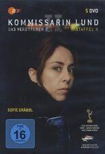 KOMMISSARIN LUND - DAS VERBRECHEN STAFFEL 2 5 DVD NEU