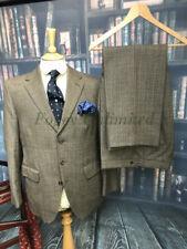 Vintage Dunn & Co 2 Piece Tweed Suit 40-42C/34W