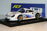 Slot car SCX Scalextric Fly A51 Porsche GT 1 Evo Mobil 4º Sebring 97