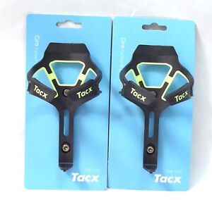 Tacx Ciro Carbon Water Bottle Cages Matte Fluo Yellow Pair