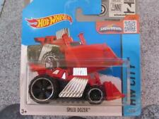 Hot Wheels 2015 #001/250 SPEED DOZER red HW City