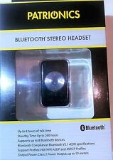 Bluetooth Stereo Headset - Belt Clip Build In