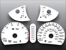 2000-2002 Oldsmobile Alero Dash Cluster White Face Gauges 00-02
