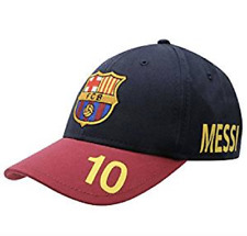 KIDS FC Barcelona Cap Messi Lionel Hat Gift Official Licensed Football Product