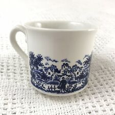 blue willow teacup 1 Made in England
