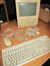 Vintage Apple Macintosh Se Computer Model M5011 w/ Large Carry Bag / Case!