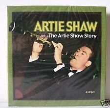 ARTIE SHAW THE ARTIE SHAW STORY BOX 4 CD