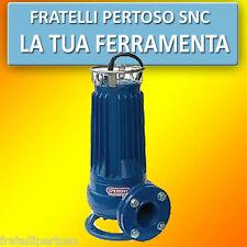 POMPA SOMMERSA PROFESSIONALE DRENAGGIO E PER FOGNA TRIFASE SQ 42-3 HP 4