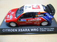 CITROEN XSARA WRC RALLY DE MEXICO 2004 SAINZ ALTAYA IXO 1:43