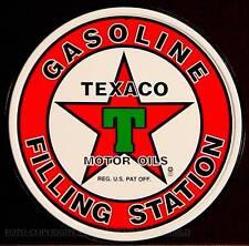 Texaco Vintage Sign Poster Advertising Reklame Oldtimer Retro Schild *302