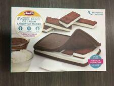 107-821-251 Chef'n Sweet Spot 4 in. W x 7-1/2 in. L Brown Ice Cream Sandwich Mak