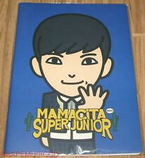 SUPER JUNIOR SJ MAMACITA AYAYA SM LOTTE POP UP GOODS LEETEUK CHARACTER NOTE NEW