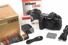 IMMACULATE, Boxed, Barely-Used US-Market Nikon D200 Camera Body + Accessories