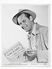 "1951 MOVIE STILL ""BOOTS MALONE"" STARRING WILLIAM HOLDEN 8 X 10 BLACK AND WHITE"