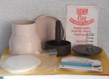 Bel Pure Burger Maker And Wax Discs