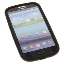 Silicon Case Schutz schwarz für Samsung Galaxy S3 I9300