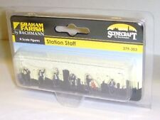 Graham Farish Scenecraft 379-303 Station Staff (N Gauge) Figures