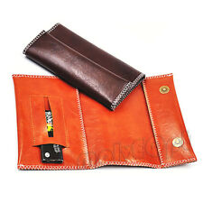 New 1 X Portable Pu Leather Wallet Purse Cigarette Tobacco Pouch Case Bag Holder