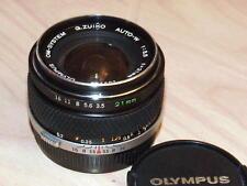 OLYMPUS OM ZUIKO 21mm F3.5 LENS