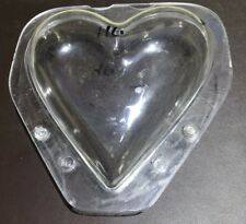 Professional polycarb chocolate moulds Hans Brunner 214 Large Heart Valentines