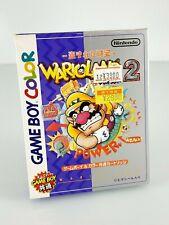 Wario land 2 Jeu Nintendo Game Boy Color GBC JAP Japan