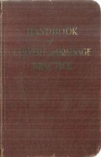 Handbook of Culvert and Drainage Practice 1930