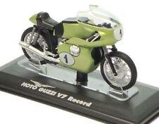 EDICOLA Moto Guzzi 1/24 V7 Record diecast model motorcycle motorbike moc rare