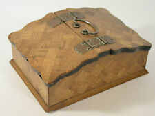 An early 20th century Japanese two sectioned wooden box /tea caddy