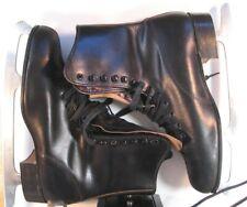 New listing Vintage Men's Canadian Rocket Figure Skates Size 10 Sheffield Steel blade 10 2/3