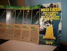 1979 Weed Eater Brochure.new product roll-out.info/nostalgia