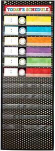 NEW Carson Dellosa Deluxe Scheduling Gold Dot Pocket Chart CD-158041 School/Home