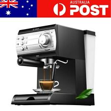 DL-KF6001 Semi Automatic Coffee Maker Barista Espresso Machine Milk Steamer