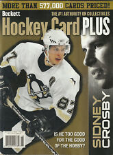 Fall 2007 Beckett Hockey Price Guide Sidney Crosby