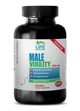 Zinc Capsules - Male Virility 1300mg - Men Stamina Ultimate Pills 1B
