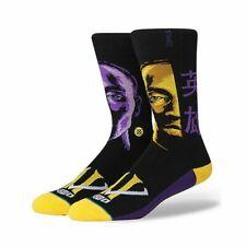 Stance 'Kobe Faces' Kobe Bryant Socks LARGE 9-12 - NEW!