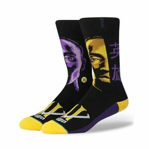 Stance 'Kobe Faces' Kobe Bryant Socks LARGE 9-12 - NEW!