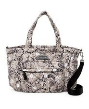 Marc Jacobs Print Quilted Paisley Grey-Multi Hardware logo Baby Bag
