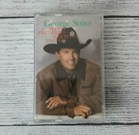 GEORGE STRAIT Holiday Music Cassette Merry Christmas Wherever You Are
