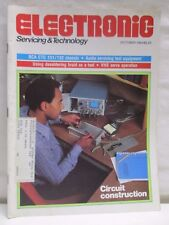 Electronic Servicing & Technology Magazine October 1984 Circuit Construction VHS