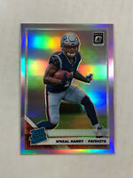 N'KEAL HARRY 2019 Donruss Optic SILVER HOLO SP RC REFRACTOR #169! PATRIOTS! HOT!