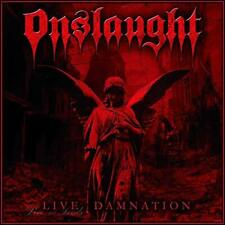 Onslaught - Live Damnation (Clear Vinyl) (NEW VINYL LP)