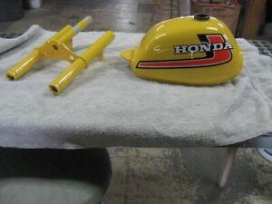 Honda Parakeet Yellow Vintage Motorcycle Paint - Aerosol - Pint - Quart