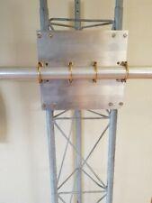 """Antenna Plates 2/"""" Boom to 1.25/"""" Yagi el Al or 2/"""" GP//Vertical  Must to 1.25/"""" el"""
