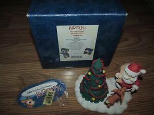 ENESCO Rudolph Island Misfit Toys WONT YOU GUIDE MY SLEIGH FIGURINE 106830 Santa