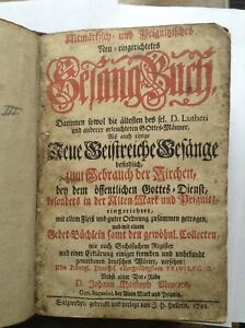 1748 Altmärkisches Prignitzisches Neu-eingerichtetes Gesangbuch Salzwedel RAR