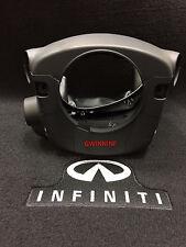 48470-4GF0A Shroud For Infiniti Q50 w/ Sport Paddle Shifters, Auto Tilt, Black